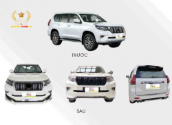Body kit Prado 2018
