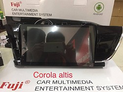 DVD Fuji Android 4G cho xe Toyota Corolla Altis