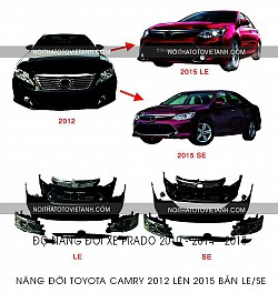 Body kit Camry 2012 lên 2015 LE-SE